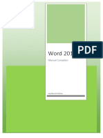 Word 2016 - Completo