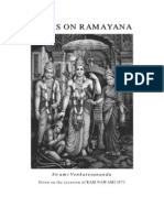 Talks on the Ramayana