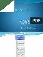 mass transfer -LLE