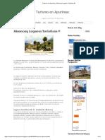 Turismo en Apurimac_ Abancay Lugares Turisticos ®