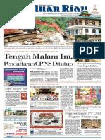 Haluan Riau, Senin 15 Oktober 2018