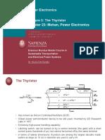Lecture 3 - Thyristor