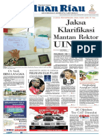 Haluan Riau, Selasa 23 Oktober 2018