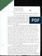 Zur Beschullung Von Reinhold Wurzmann Am 15. April 1917