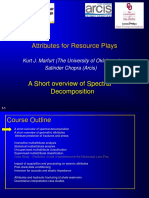 1. a Short Overview of Spectral Decomposition