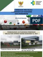 02 Upaya Perbaikan Tata Kelola Pengadaan Alat Kesehatan Dan Sponsorship Nila Farid Moeloek
