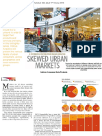 Skewed Urban Markets