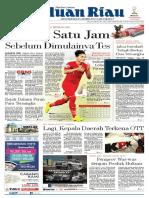 Haluan Riau, Kamis 25 Oktober 2018
