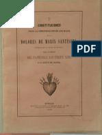Constituciones FMD 1867