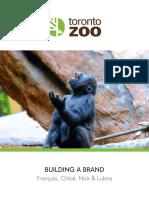 toronto zoo build a brand assignment final