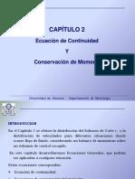 Capítulo 2 Ecuación de continuidad y conservación de momento.ppt