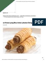 10 Kreasi Yang Bisa Anda Lakukan Dengan Puff Pastry _ Smartpluspro