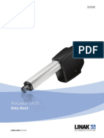 Linear Actuator La25 Data Sheet Eng