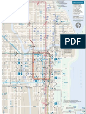 Chicago CTA Map | Rapid Transit | Transport