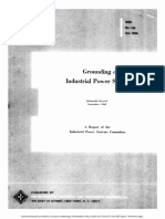 142-1956 - IEEE Grounding of Industrial Power Systems