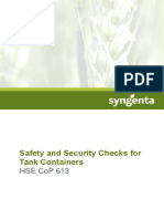 Safety and Security Checks for Tank Containers Hse Cop 613 v3