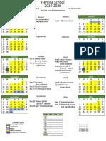 1920 School Calendar