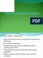 The Arrival of the Saxons