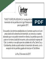 Derechos Liga Bolivia