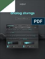 Analog Strings User Guide
