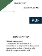 Adsorption Phenomenon