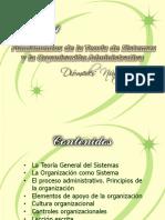 FUNDAMENTO DE  TEORIA DE SISTEMAS