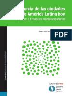 Economía de las ciudades de América Latina Hoy, José Luis Coraggio y Ruth Muñóz