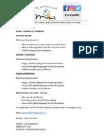 Crema Job Advert16.12.2018