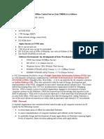 The Configuration of Offline Central Server