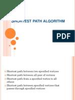 Shortest Path Algortihm