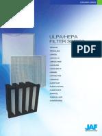 JAF HEPA Filter Catalog