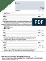 English HKSI LE Paper 9 Pass Paper Question Bank (QB)