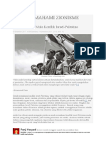 Memahami Zionisme