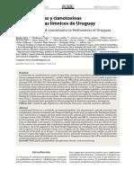 Cianobacterias y Cianotoxinas en Ecosistemas Límnicos de Uruguay