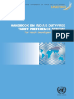 Handbook on India's Duty-free