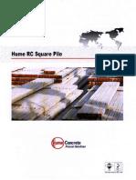 square pile design