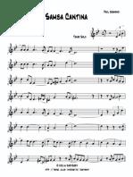 Samba Cantina Bb Tenor Sax Paul Desmond