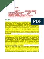 Prohibited Alienations Jurisprudence