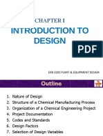 PED Chapter I - Introduction to Design