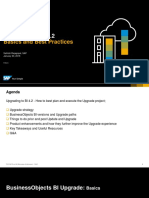 Upgrading to BI 4.2Best Practices
