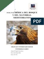 FAUNA IBERICA DEL BOSQUE Y  DEL MATORRAL MEDITERRANEO