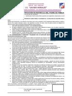 Doc. Para Ratificacion de Matricula 2019