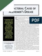 Alzheimer s Disease Which Germ is It?