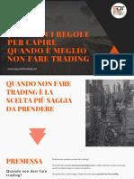 7 Regole Per Fare Trading