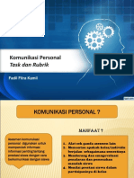 PPT Rubric and Task Fadil Fitra Kamil