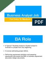 BA-Job