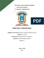 Practica Hemostasia