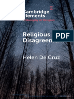 Religious Disagreement (1)