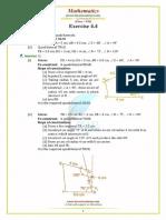 Punjab Examination Commission PEC 8th Class Mathematics Unit 4.4 Notes