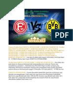 Prediksi Bola Fortuna Düsseldorf vs Borussia Dortmund 19 Desember 2018